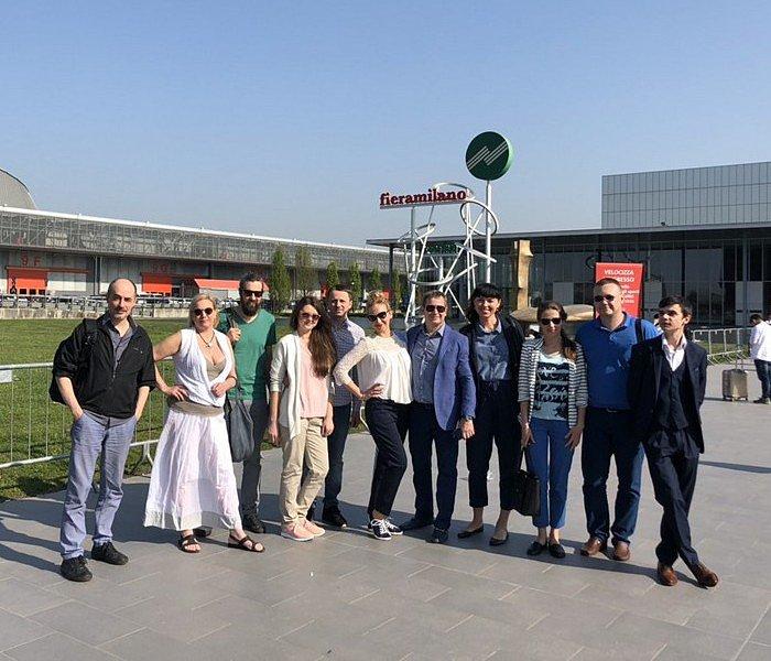 Поездка победителей конкурса на iSaloni